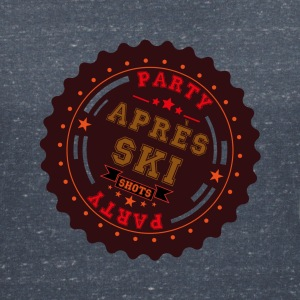 Apres Ski Shots Logo T-Shirts - Women's V-Neck T-Shirt
