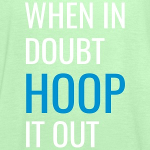 Hoop It Out! {Lime Green} - Women's Tank Top by Bella