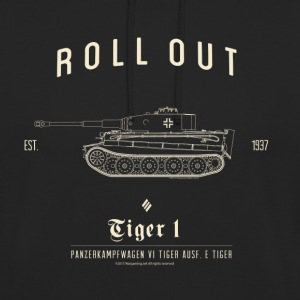 World of Tanks Roll Out Tiger Homme sweat-shirt á - Sweat-shirt à capuche unisexe
