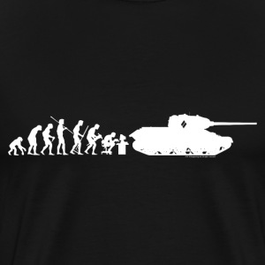 World of Tanks Darwin Men T-Shirt - Maglietta Premium da uomo