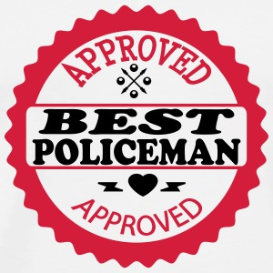Approved best policeman T-Shirts - Men's Premium T-Shirt