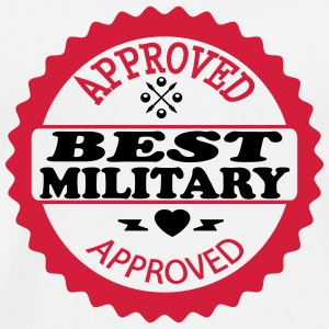 Approved best military T-shirts - Herre premium T-shirt
