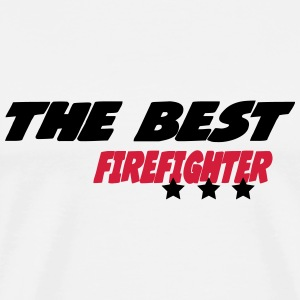 The best firefighter Camisetas - Camiseta premium hombre