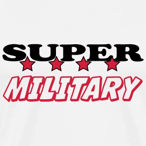 Super military T-shirts - Herre premium T-shirt
