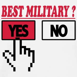 Best military ? YES T-shirts - Herre premium T-shirt