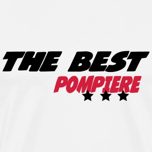 The best pompiere T-shirts - Herre premium T-shirt