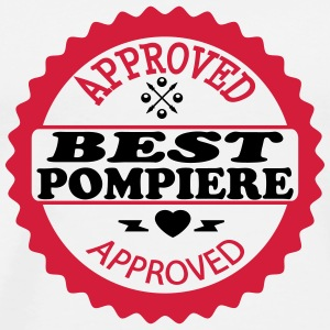 Approved best pompiere Tee shirts - T-shirt Premium Homme