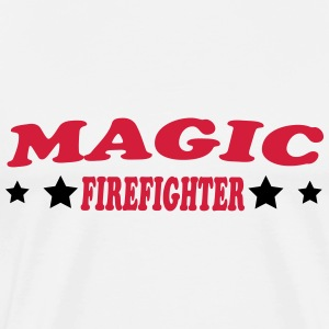 Magic firefighter Camisetas - Camiseta premium hombre