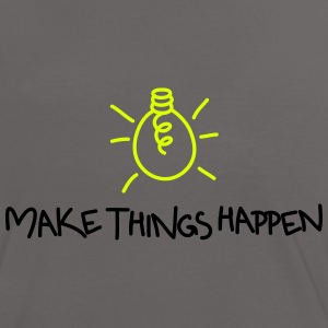Make Things Happen - Frauen Kontrast-T-Shirt