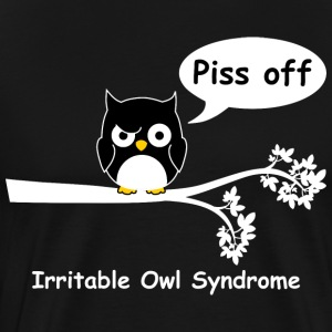 Irritable owl syndrome 2 T-Shirts - Men's Premium T-Shirt