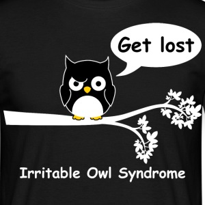 Irritable owl syndrome 4 T-Shirts - Men's T-Shirt