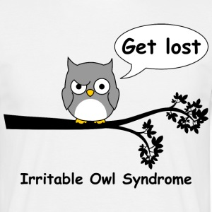 Irritable owl syndrome 3 T-Shirts - Men's T-Shirt