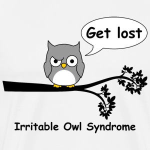 Irritable owl syndrome 3 T-Shirts - Men's Premium T-Shirt