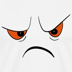 Angry Face T-Shirts
