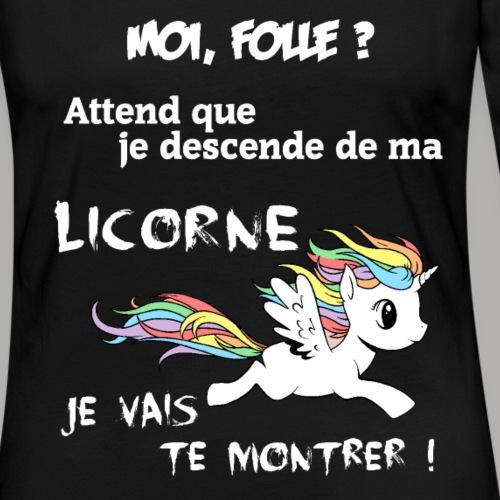 folle licorne