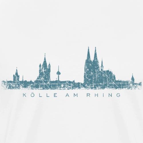 Kölle am Rhing Skyline Vintage (Blau)