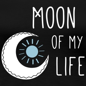 Moon of my life - Frauen Premium T-Shirt