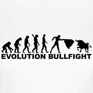 Evolution Bullfight T-Shirts - Frauen T-Shirt