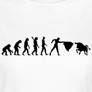 Evolution Stierkampf T-Shirts - Frauen T-Shirt