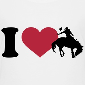 I love Rodeo T-Shirts - Kinder Premium T-Shirt