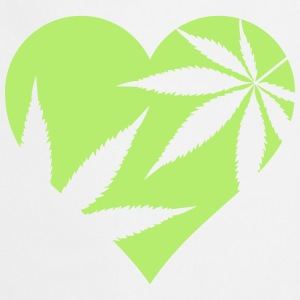 cannabis love  Aprons - Cooking Apron