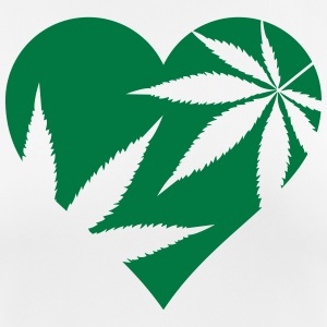cannabis love T-Shirts - Women's Breathable T-Shirt