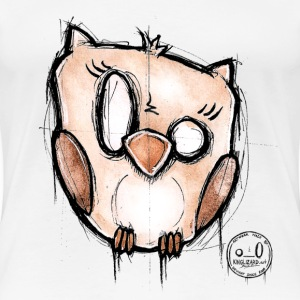 Owl (collection K-nimals by kinglizard) - T-shirt Premium Femme