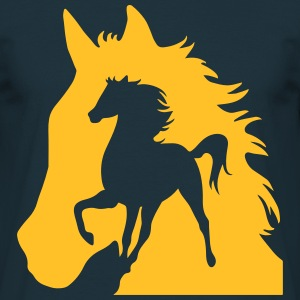 Horse Shadow T-Shirts - Men's T-Shirt