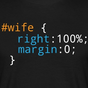 Css Puns - Wife - Men's T-Shirt