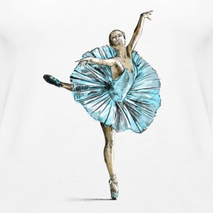 ballet Tops - Women's Premium Tank Top