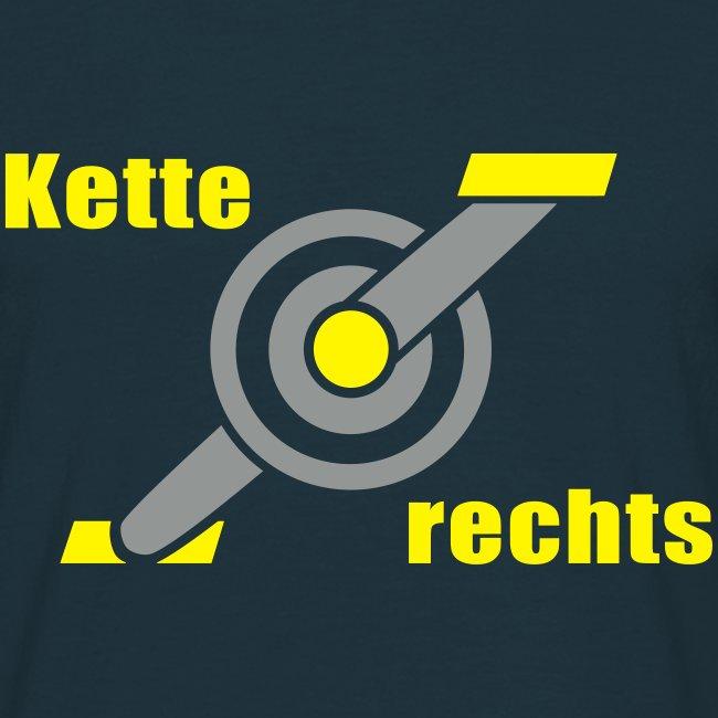 T-Shirt - Kette rechts - 2C