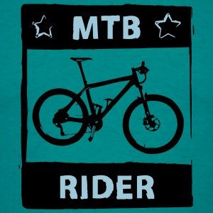 MTB Rider - 2 Color - Männer T-Shirt