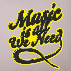 Music Is All We Need Other - Sofa pillow cover 44 x 44 cm