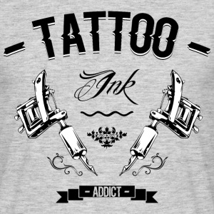 tattoo addict 4 Tee shirts - T-shirt Homme