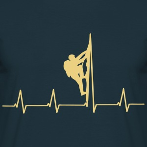 Mountaineers heartbeat T-Shirts - Men's T-Shirt