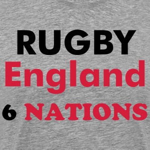 ENGLANDS RUGBY TEAM - Men's Premium T-Shirt