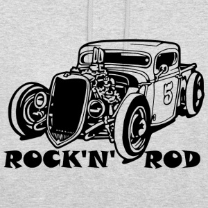 Rock'n'rod sweat - Sweat-shirt à capuche unisexe