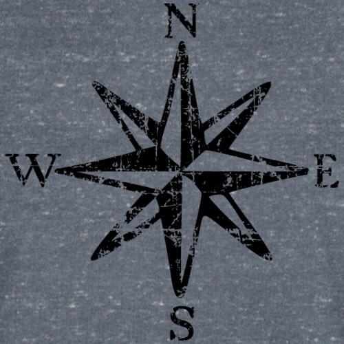 Windrose mit Himmelsrichtungen Vintage