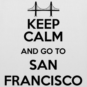 Keep Calm and go to San Francisco Sacs et sacs à dos - Tote Bag