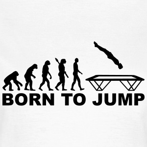 Evolution Trampolin T-Shirts - Frauen T-Shirt