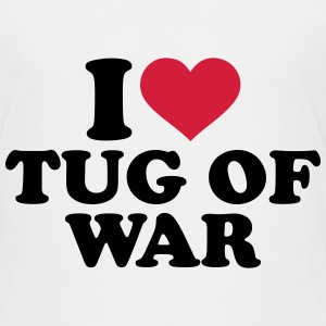 I love tug of war T-Shirts - Kinder Premium T-Shirt