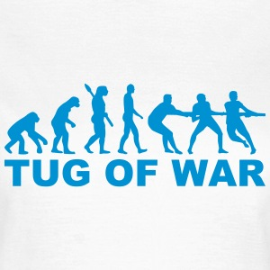 Evolution tug of war T-Shirts - Frauen T-Shirt