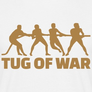 Tug of war T-Shirts - Männer T-Shirt