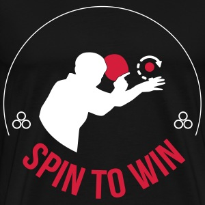 spin to win T-shirts - Mannen Premium T-shirt