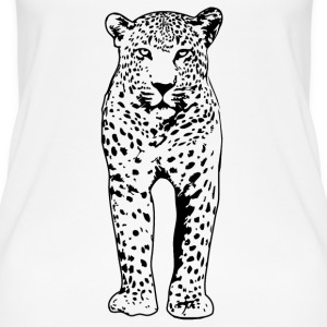 Leopard Tops - Frauen Bio Tank Top
