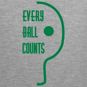 table tennis: every ball counts Tanktops - Mannen Premium tank top