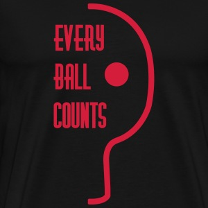 table tennis: every ball counts Tee shirts - T-shirt Premium Homme