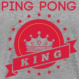 ping pong king T-Shirts - Men's Premium T-Shirt