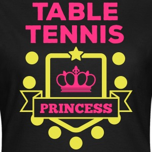 table tennis princess Tee shirts - T-shirt Femme