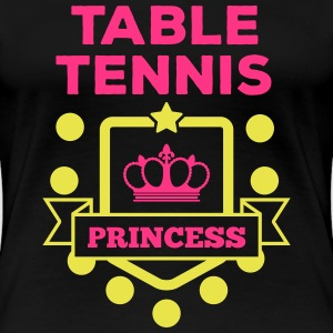 table tennis princess Tee shirts - T-shirt Premium Femme